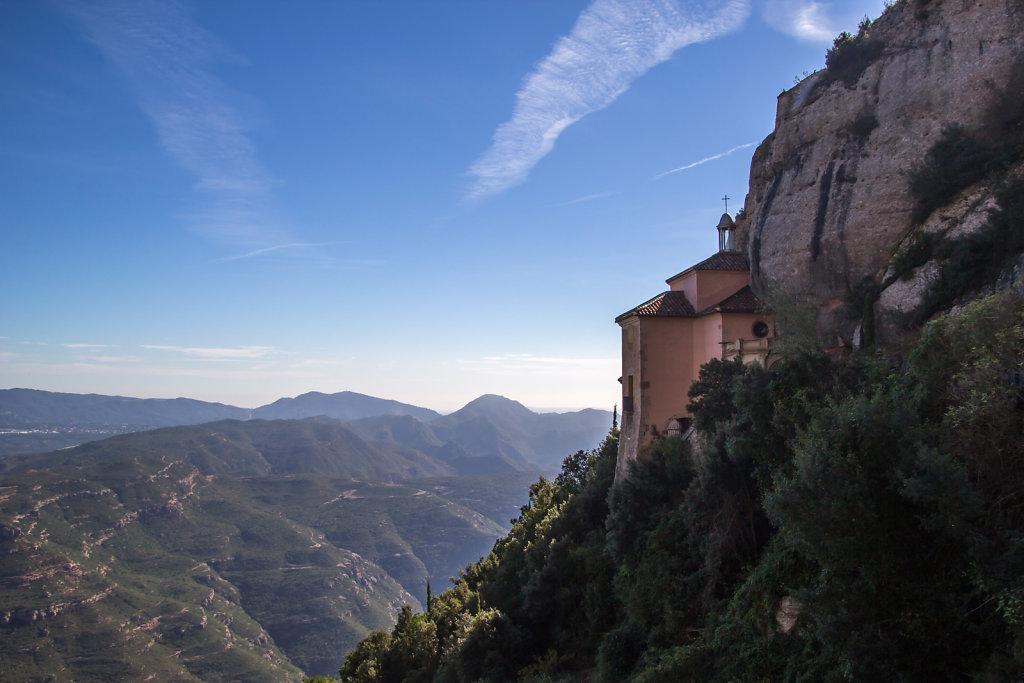 Heilige Grotte Cueva Santa nahe dem Kloster Montserrat