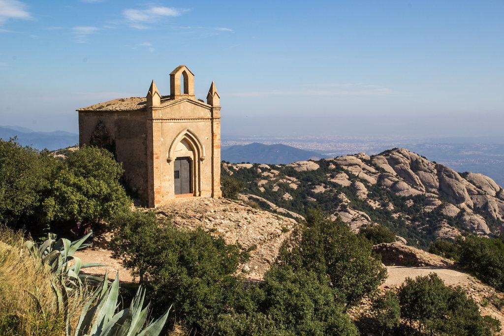 Ermita de sant joan nahe dem Kloster Montserrat